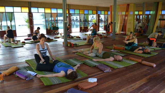 Thai Massage class with Ralf Marzen